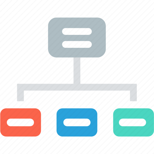 chart, connection, diagram, link, network, server, sitemap icon