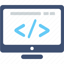 coding, config, development, edit, program, system icon
