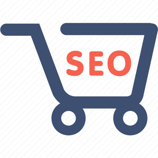 advertising, cart, e-commerce, marketing, seo icon