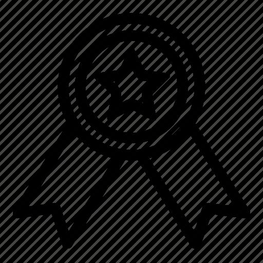 award, certification, medal, quality, winner icon