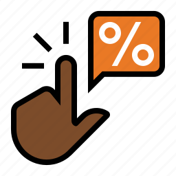 click, click thru rate, ctr, finger, marketing, seo, touch icon