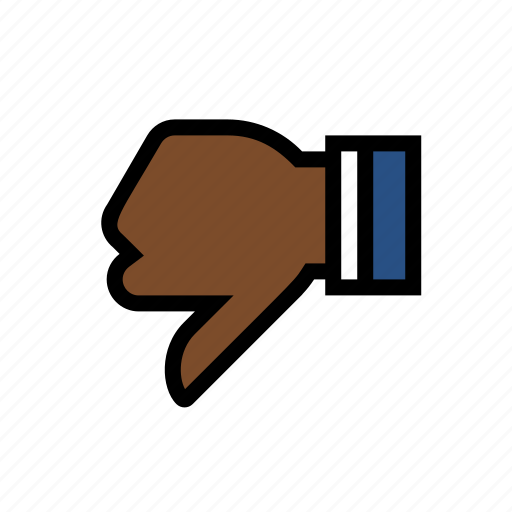 disapproval, dislike, down vote, marketing, seo, thumbs down icon