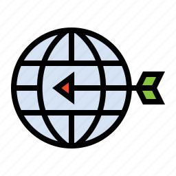 geo targeting, globe, location, location targeting, marketing, seo, targeting icon