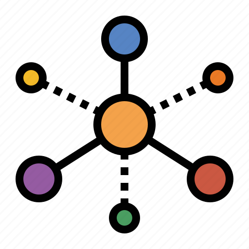 graph, graph theory, links, marketing, nodes, seo, vertices icon