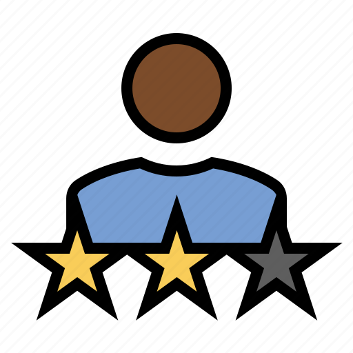 feedback, marketing, review, seo, stars, user rating icon