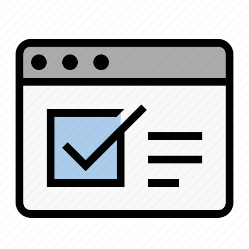 checklist, form, marketing, poll, seo, survey icon
