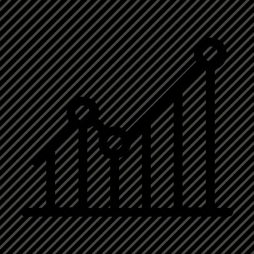 analytic, chart, graph, seo, statistics icon