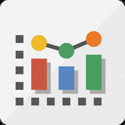 analytics, chart, data comparison, marketing, report, seo icon