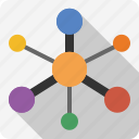 graph, graph theory, links, marketing, network, nodes, seo, vertices icon