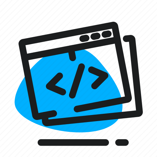 browser, code, optimization, programming, seo, web icon
