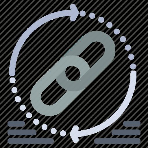 Hyperlink, link, refresh, web, website icon - Download on Iconfinder