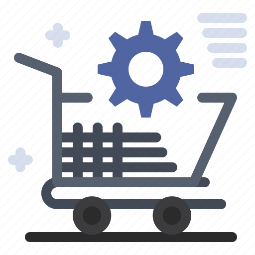 Cart, online, setting, shopping, store icon - Download on Iconfinder