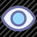 eye, lens, optical, vision, watch