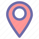 direction, location, map, pin, place