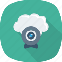 camera, cloud, photo, photography, picture, upload icon