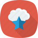 cloud, favorite, like, star
