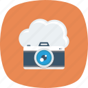cloud, photo, photography, picture, upload icon