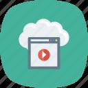 cloud, multimedia, online