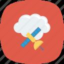 cloud, computing, satellite, sharing icon