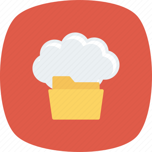 Cloud, files, folder icon - Download on Iconfinder