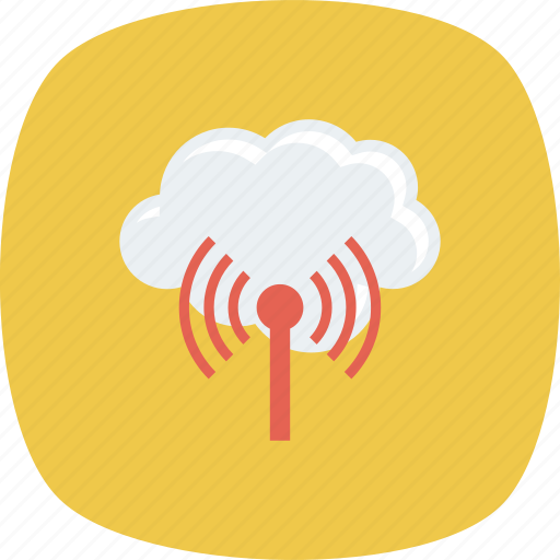 Cloud, internet, signal, technolory icon - Download on Iconfinder