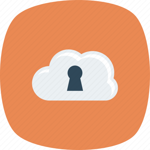 Cloud, lock, locked, security icon - Download on Iconfinder