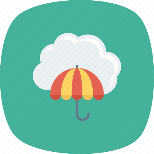 Cloud, protection, umbrella, weather icon - Download on Iconfinder