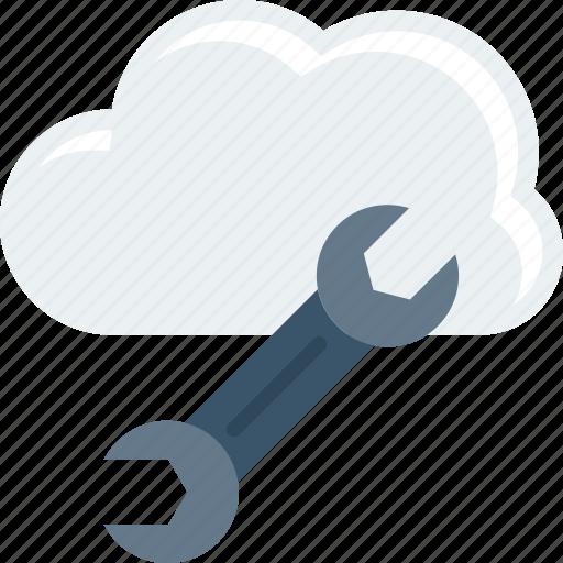 connection, database, digital, setting icon