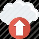 backup, cloud, guardar, hosting, save, share, upload, web icon