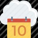 cloud, computing, online, schedule, storage