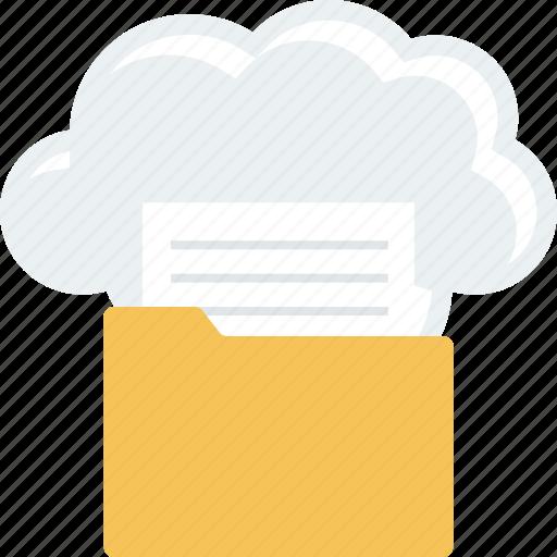 cloud, computing, data icon