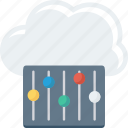 cloud, mntenance, repr, service, setting icon