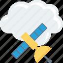 cloud, computing, dish, sharing icon