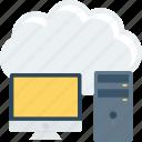 cloud, computer, storage