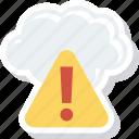 error, storage, warning icon
