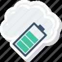battery, code, energy, full, power icon
