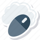 cloud, computing, data, monitoring icon