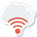 cloud, internet, technology, wifi icon