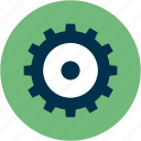 cog, control, options, setting, tool, web, work icon