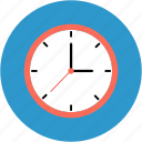 clock, hour, schedule, stopwatch, timepiece, wait, wall icon