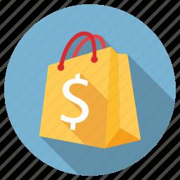 bag, chart, logo, seo, seo bag, shop, shopping icon