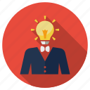 brainstroming, fresh idea, idea, lamp, new idea, seo, seo idea icon