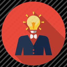 brainstroming, fresh idea, idea, lamp, new idea, seo, seo idea icon