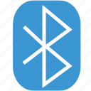 bluetooth, business, call, communication, connection, phone, web icon