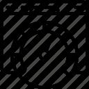 chart, measure, performance, piechart, seo, website icon