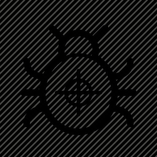 bug, debug, fix, fixing, marketing, seo, web icon