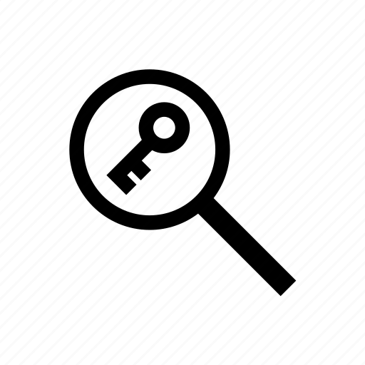 analysis, key, keyword, marketing, search, seo, web icon