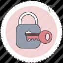 key, lock, optimization, seo, unlock icon