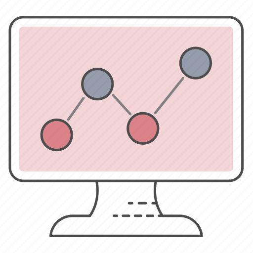 analyze, monitor, optimization, seo icon