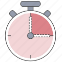 clock, optimization, seo, speed icon